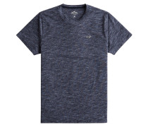 T-Shirt nachtblau / taubenblau