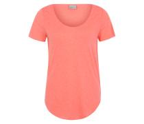 T-Shirt 'VMLua' pfirsich