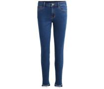 7/8-Skinny Fit Jeans blue denim