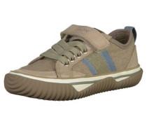 Sneaker dunkelbeige / grau