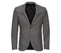 klassische Regular Fit Blazer grau