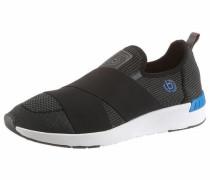 Sneaker cyanblau / schwarz