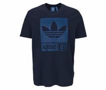 T-Shirt blau / schwarz