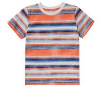 T-Shirt für Jungen blau / orange