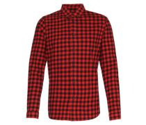 Hemd 'seth LS Shirt' rot