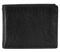 Columbia Geldbörse Leder 13 cm schwarz