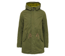 Parker 'Long hooded parka' khaki
