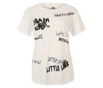T-Shirt 'Drain' weiß
