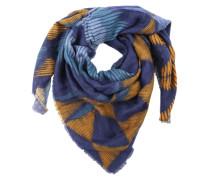 Schal 'CosyPrintScarf' blau