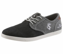 Sneaker grey denim / schwarz