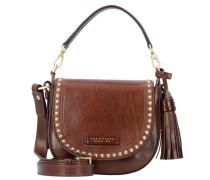 'Rock' Handtasche Leder 21 cm braun