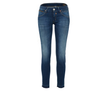 'Touch Cropped Denim Powerstretch' Slimfit Jeans blue denim