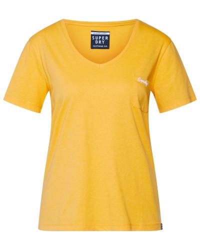 Shirt 'OL Essential Vee' gelb