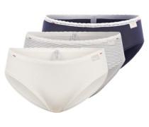 Hipster Shorts im 3er Pack beige / blau