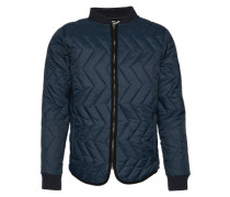 Jacke 'Quilted jacket' blau