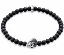 Armband »Totenkopf A1270-159-11« schwarz
