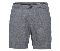 Regular Fit - Shorts graumeliert