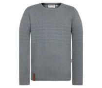 Pullover 'Schmiergelvampir' taubenblau