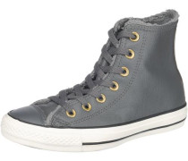 'Chuck Taylor All Star High' Sneakers gold / grau / weiß
