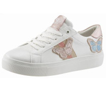 Sneaker hellblau / altrosa / weiß