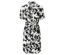 Kleid weiß / schwarz