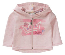 Baby Sweatjacke für Mädchen UV-Schutz 30+ rosa