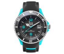 Armbanduhr 'ice-Sporty Sr.3H.gsb.bb.s.15' blau / grau