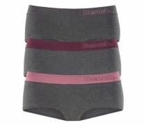 Panty (3 Stück) graumeliert