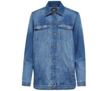 Oversized-Jeansjacke blue denim