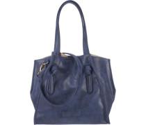 'Ilona Berlin' Handtasche blau / dunkelblau