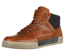 Sneaker dunkelblau / braun / grau