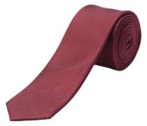 Krawatte Seide weinrot