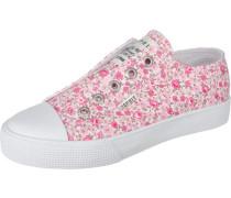 Slipper rosa / weiß