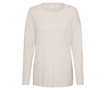 Pullover 'crazy Tunic Solids' offwhite