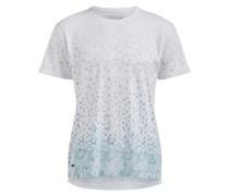Shirt Ulfan türkis / weiß