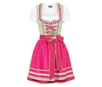 Dirndl 'Vroni' grün / pink