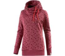 Beat Print Organic Sweatshirt rot