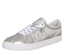 Sneaker im Retro-Look silber