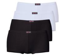 Panty H.i.s. (4 Stck.) schwarz / weiß