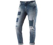 Ada Boyfriend Jeans Damen blau