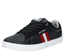 Sneaker 'tod' anthrazit / rot / weiß