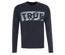 Shirt 'true Camo Artwork LS' schwarz