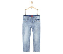 Helle Used-Jeans 'Brad' blue denim / hellblau