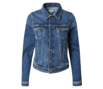 Jeansjacke 'Core' blue denim