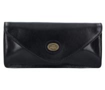 Story Donna Clutch Tasche Leder 25 cm schwarz
