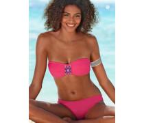 Bandeau-Bikini pink
