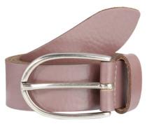 Gürtel im Metallic-Look rosé