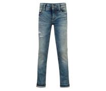 Jeans Skinny Fit Zepp mit Used-Waschung für Jungen blau