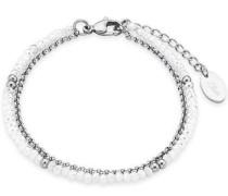 Armband '2018342' silber / weiß
