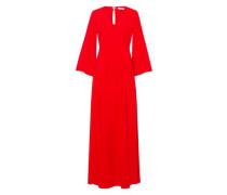 Kleid 'Flared Sleeve Evening Dress' rot
